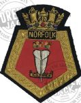 NORFOLK5 - Blazer Badge~OFFICIALLY LICENCED PRODUCT (1) (3)